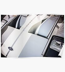 Ford GT Hood Emblem -0402c Poster