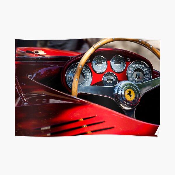 Vintage Ferrari Posters Redbubble