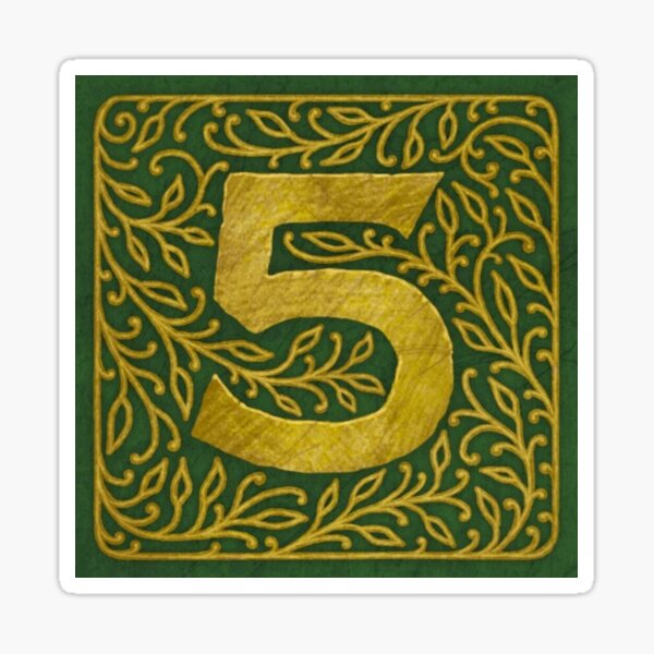 The Five By - Classic Logo Sticker
