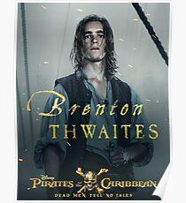 Brenton Thwaites pirates Poster