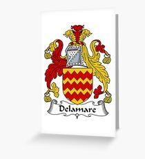 Delamare Greeting Card