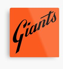 San Francisco Giants Metal Print