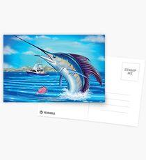 Whiplash - Sailfish Postcards