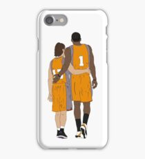 Steve Nash And Amar'e Stoudemire  iPhone Case/Skin