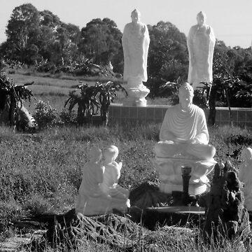 Buddhist Garden by Maximus