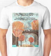 The Paperback Writer of Central Park Book Cover  Unisex T-Shirt