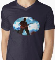 Guitar Hero Men's V-Neck T-Shirt