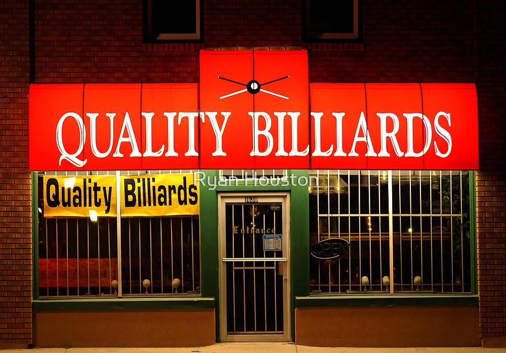 Quality Billiards by Ryan Houston