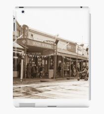 0314 Maldon Streetscape iPad Case/Skin