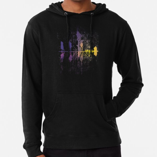 UpsideDown On The Garden - v1 Lightweight Hoodie