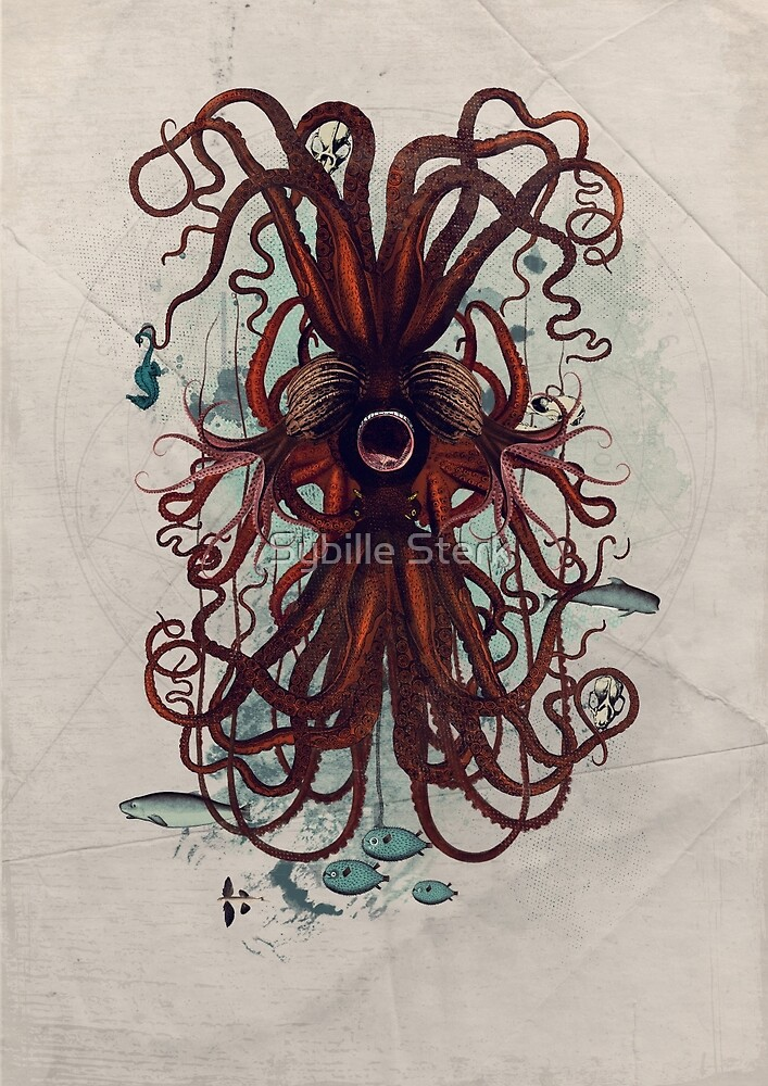 Cthulu by Sybille Sterk