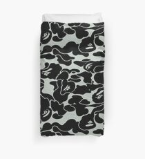camo grey Duvet Cover