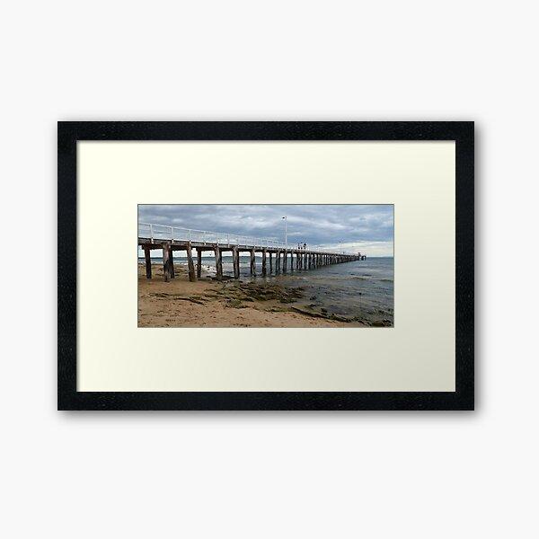 Point Lonsdale Pier Framed Art Print