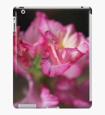 Beautiful Gladiolus Flower Petals  iPad Case/Skin