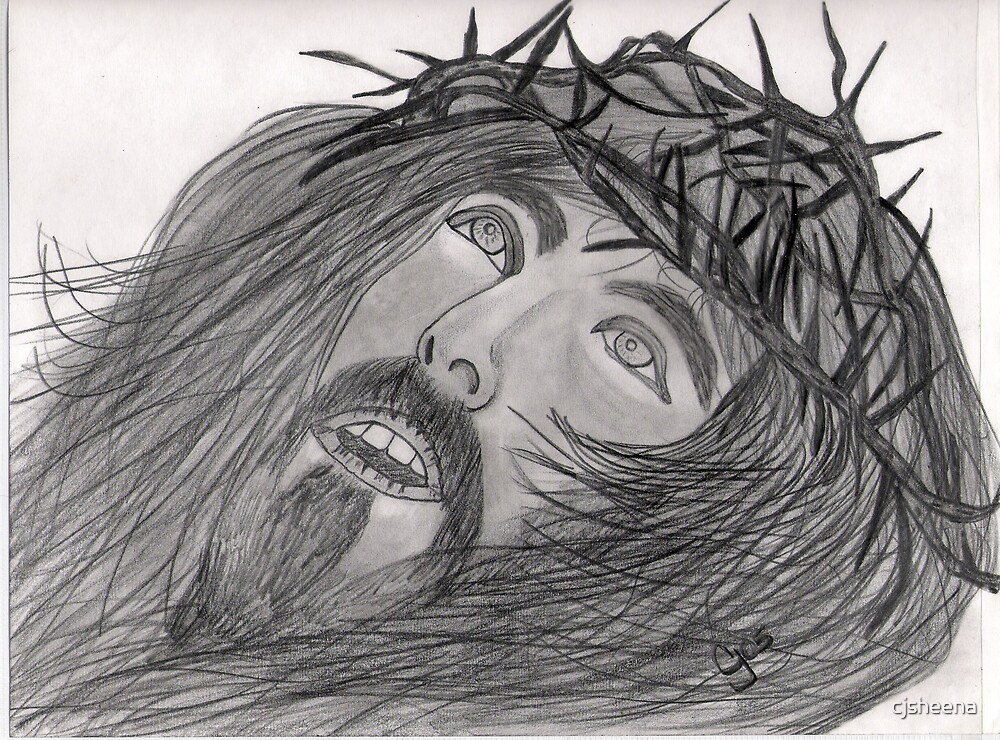 Jesus by cjsheena