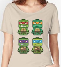 Chibi Ninja Turtles Women's Relaxed Fit T-Shirt