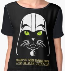 Come to the Dark Side Women's Chiffon Top