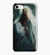 Absstract Agony In The Garden by Frans Schwartz, 1898 iPhone Case/Skin