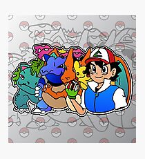 Ash and Friends Photographic Print