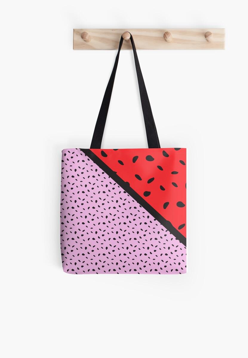 Pips - pink, red, black by ME Design Studio