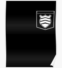 Shield Pocket Poster