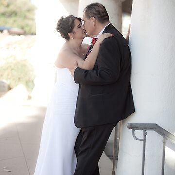 Wedding Kiss from childhood sweethearts by MarkYoung