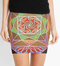 Lotus Temple of Transformation Mini Skirt