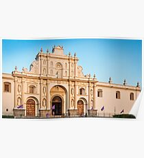Saint James Cathedral in Antigua Poster