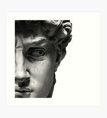Souvenir aus Florenz - David Kunstdruck