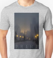 Prague, Czech Republic, Charles Bridge Unisex T-Shirt