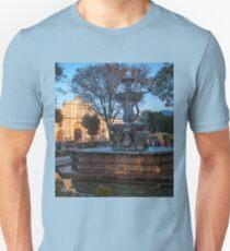 Mermaid Fountain in Sunset Light Unisex T-Shirt