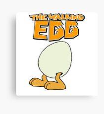 The Walking Egg (Comics) - T-shirt Canvas Print