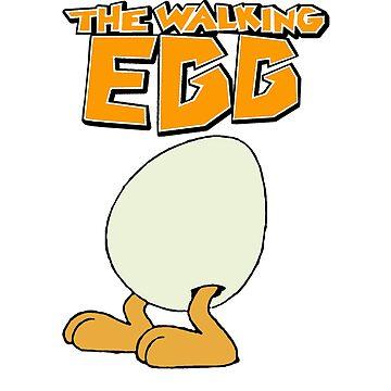 The Walking Egg (Comics) - T-shirt by GeeklyShirts