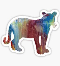 Cougar Sticker
