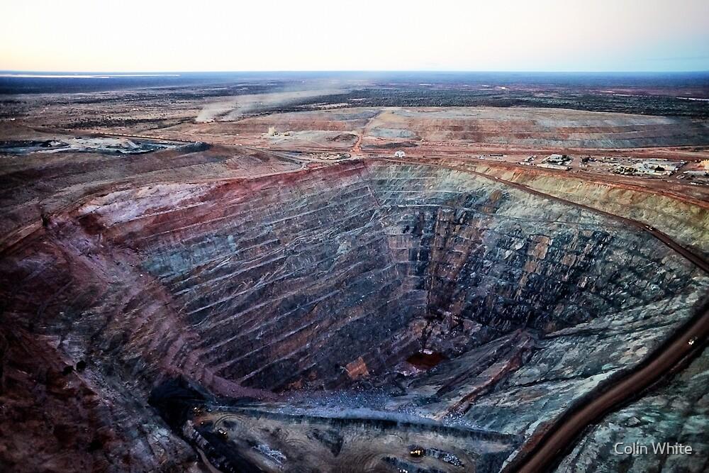 Gwalia gold mine I (photo Dave Carter) by Colin White