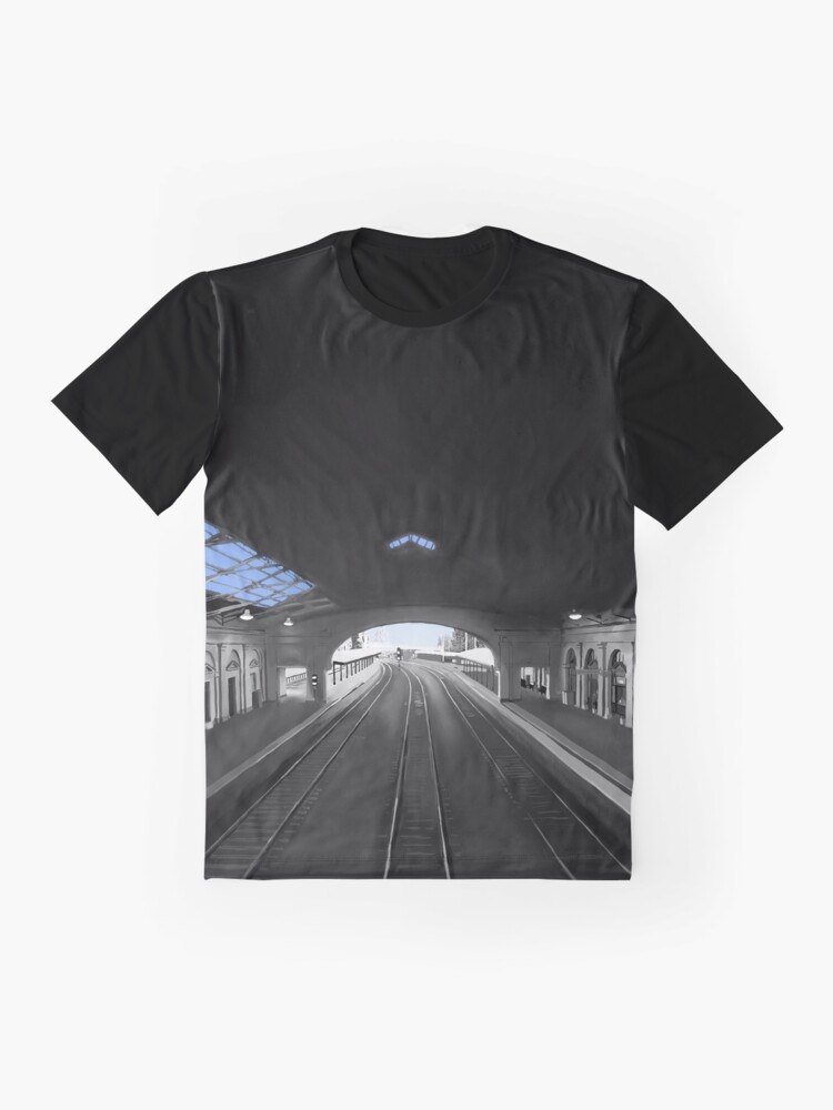 Alternate view of Light At The End Of The Tunnel Graphic T-Shirt