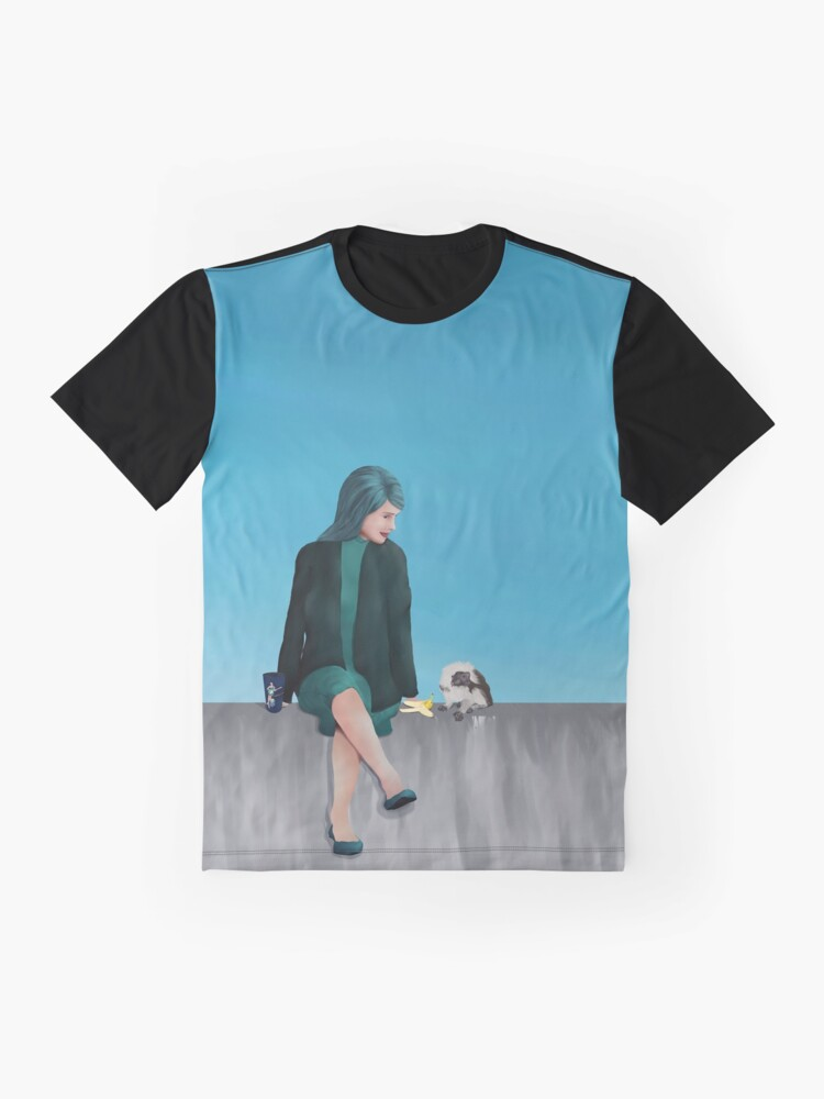 Alternate view of Queen Sapphire Graphic T-Shirt
