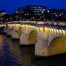 Pont Neuf Bridge - Paris, France by Georgia Mizuleva