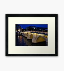 Pont Neuf Bridge - Paris, France Framed Print