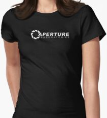 Aperture Laboratories Women's Fitted T-Shirt