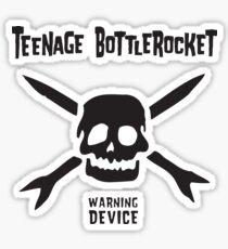 Warning Device Sticker