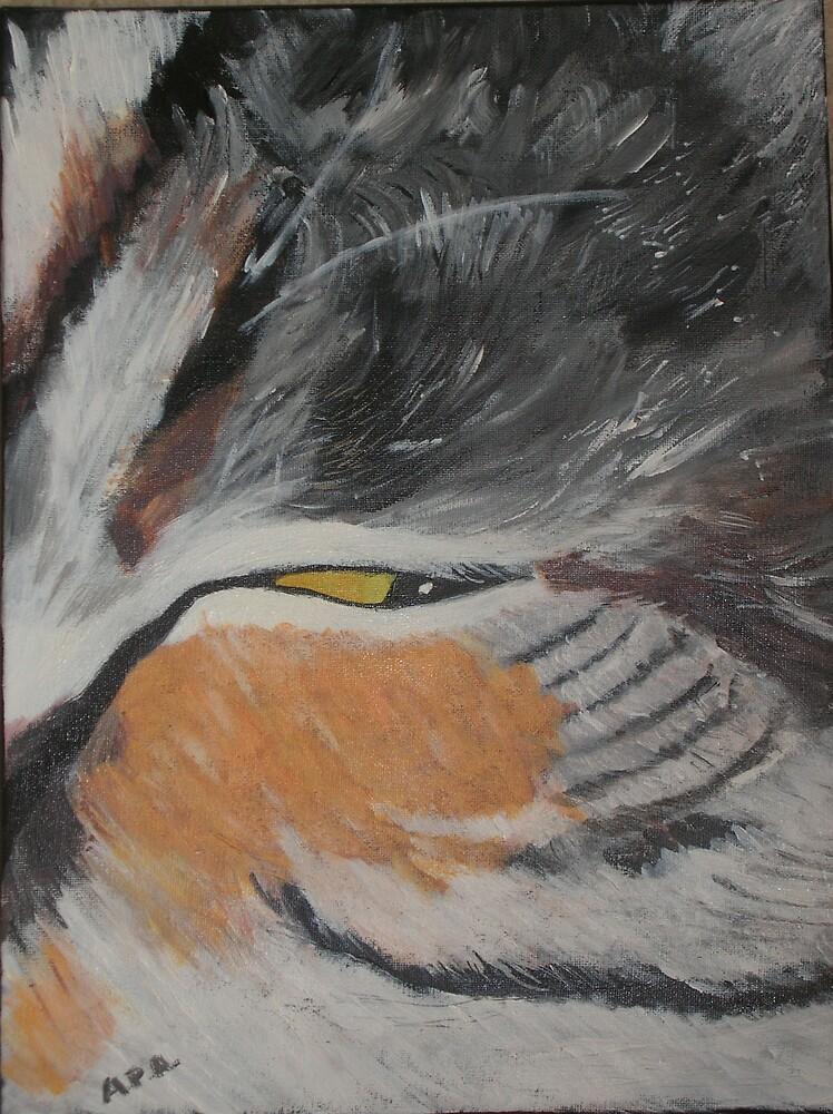 Purdy (acrylic on canvas 2007) A P Allen by yorkyanne
