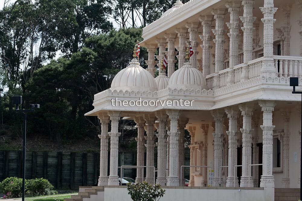 Hindu temple by theodoorventer