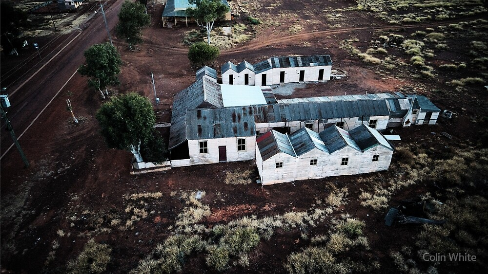 Patroni's guest house, Gwalia ghost town (photo Dave Carter) by Colin White