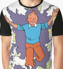 tintin cartoon show Graphic T-Shirt