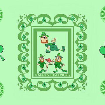 Goofy Leprechauns by kabsannie