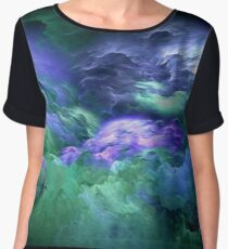 Waves from Space Chiffon Top