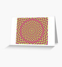 Psychedelic abstraction Greeting Card