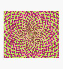 Psychedelic abstraction Photographic Print