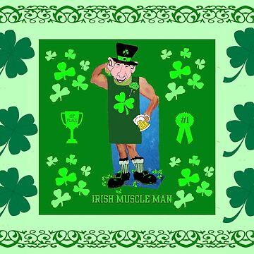 Irish Muscle Man by kabsannie